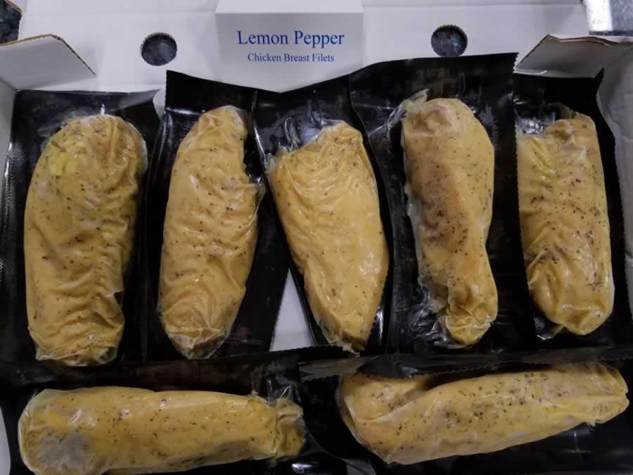 Lemon Pepper Chicken Brest filets