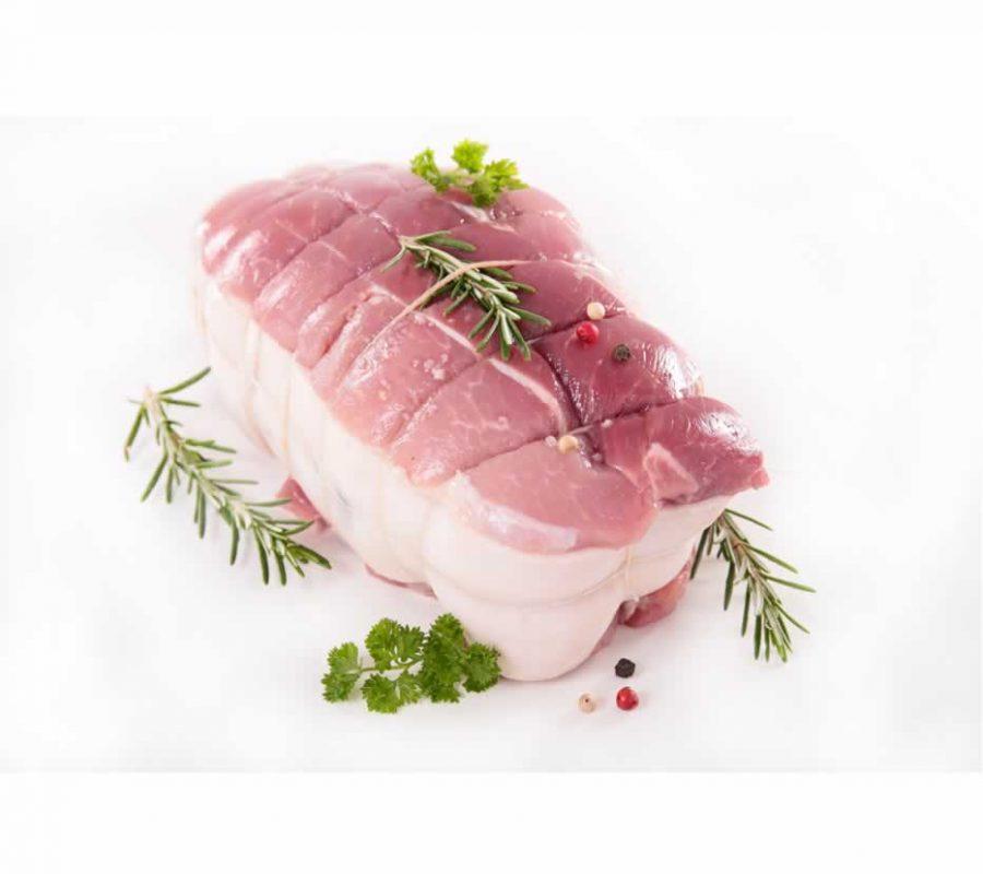 Seasoned pork roast